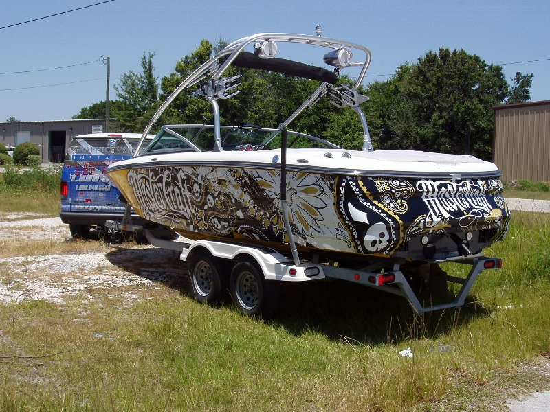 Boat Wraps Graphic Systems Installers