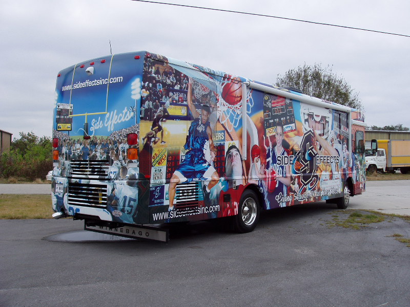 Bus Wraps Graphic Systems Installers