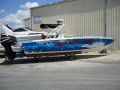 boat wrap image for Graphic Systems Installers