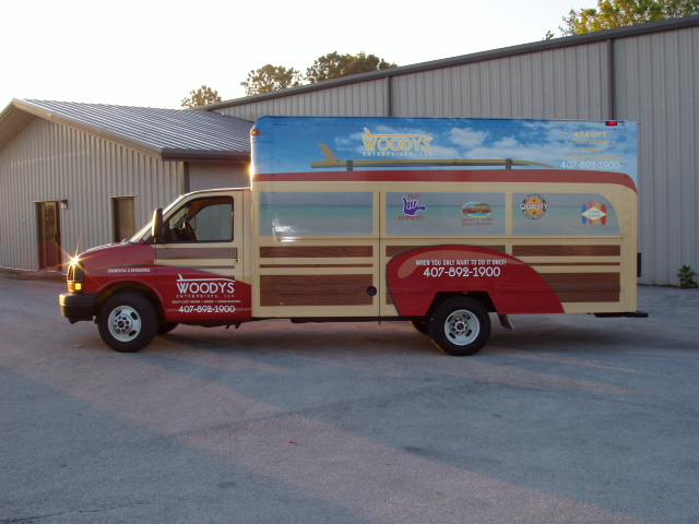 Truck Wraps Graphic Systems Installers